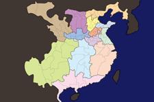 【三国志地図】三国志の地名を覚えよう!後漢時代の州郡県マップ
