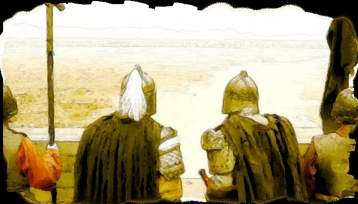 幽州に進行する黄巾賊