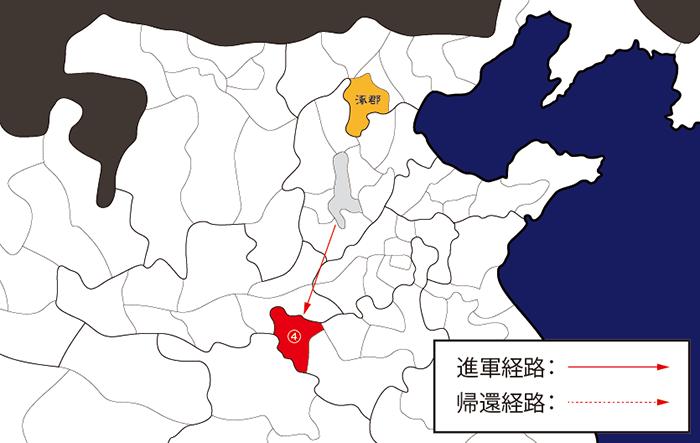 皇甫嵩・朱儁を救援