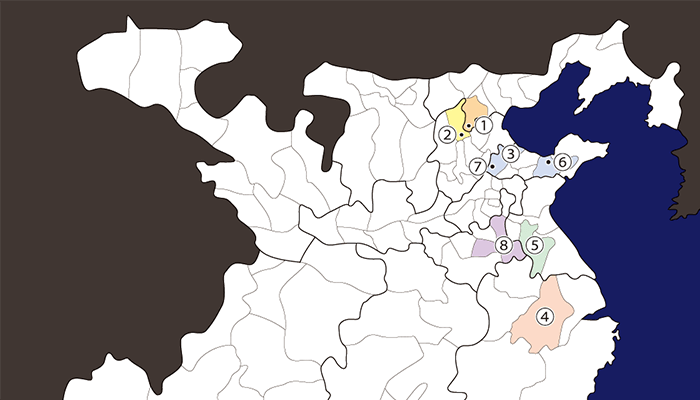 劉備関連地図