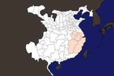 【三国志地図】「揚州」の郡県詳細地図(後漢末期)