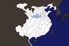 【三国志地図】「司隷」の郡県詳細地図(後漢末期)
