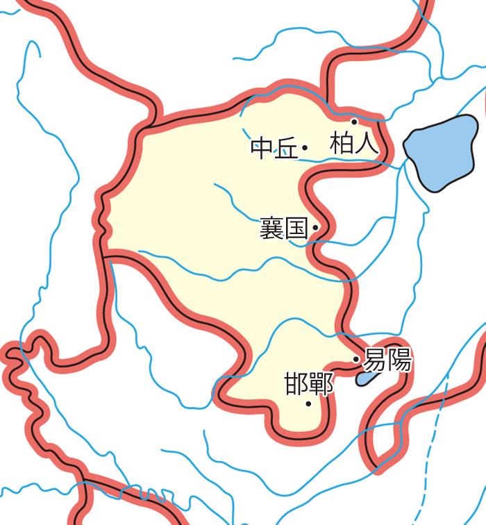 趙国(ちょうこく)の領城