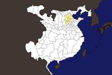 【三国志地図】「冀州(きしゅう)」の郡県詳細地図(後漢末期)