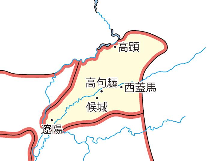 玄菟郡(げんとぐん)の領城