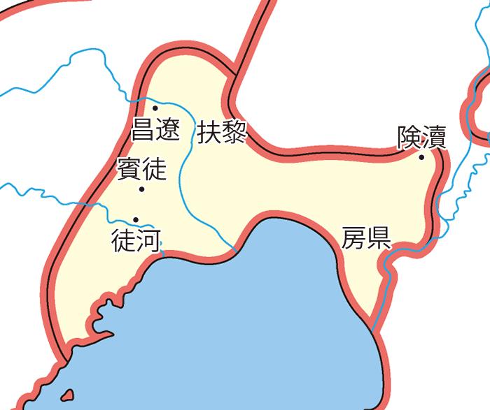 遼東属国(りょうとうぞっこく)の領城