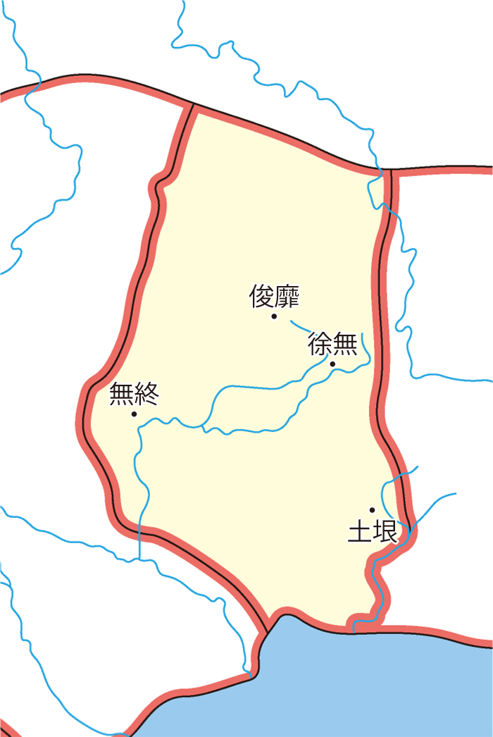 右北平郡(ゆうほくへいぐん)の領城
