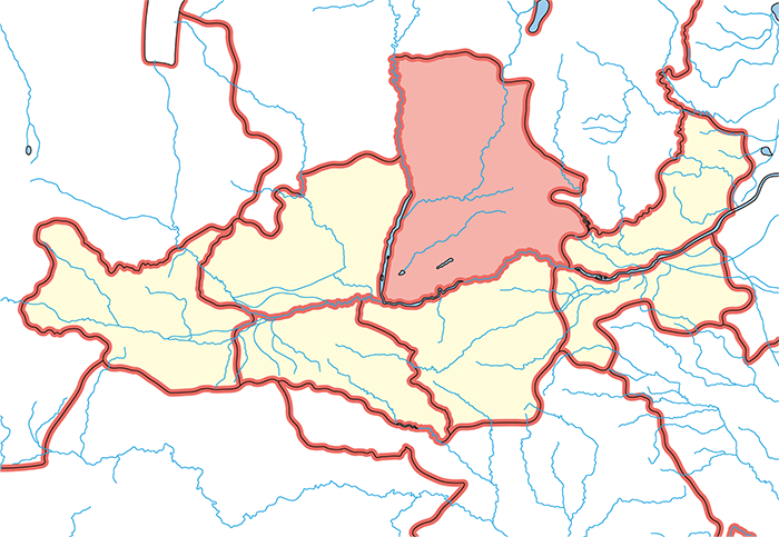 河東郡(かとうぐん)の場所