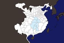 【三国志地図】「荊州(けいしゅう)」の郡県詳細地図(後漢末期)