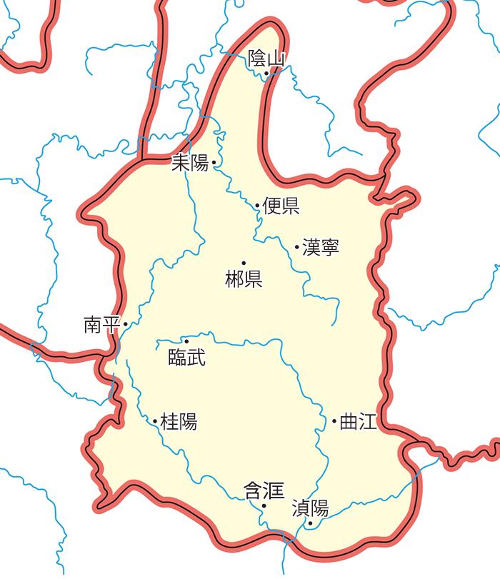 桂陽郡(けいようぐん)の領城