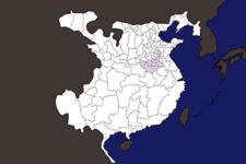 【三国志地図】「豫州(よしゅう)」の郡県詳細地図(後漢末期)