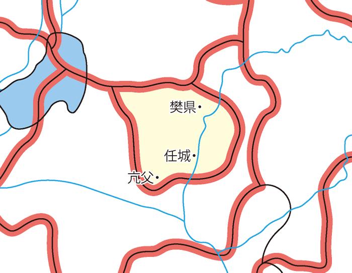 任城国(にんじょうこく)の領城