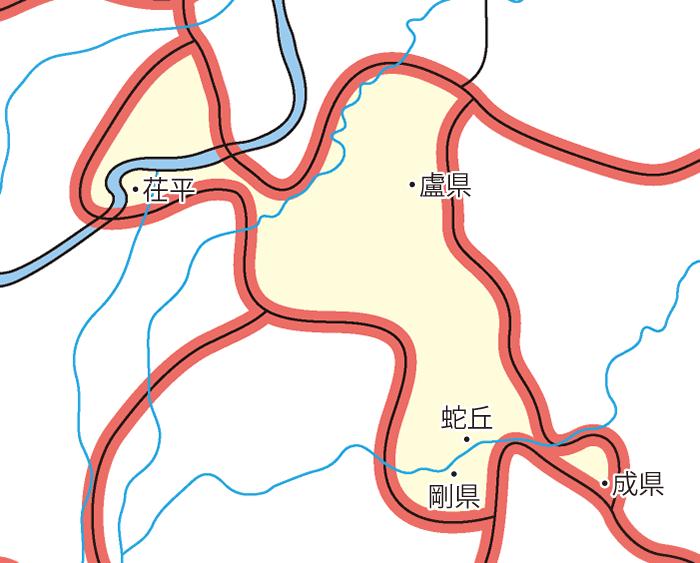 済北国(せいほくこく)の領城
