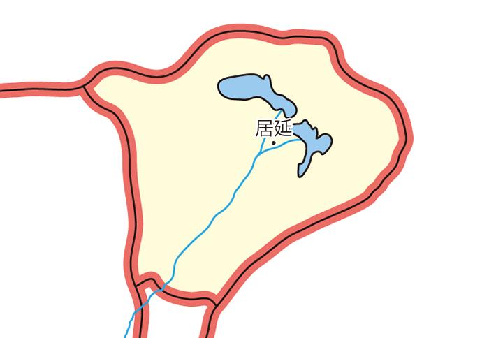 張掖居延属国(ちょうえききょえんぞっこく)の領城