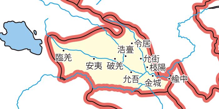 金城郡(きんじょうぐん)の領城