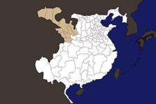 【三国志地図】「涼州(りょうしゅう)」の郡県詳細地図(後漢末期)