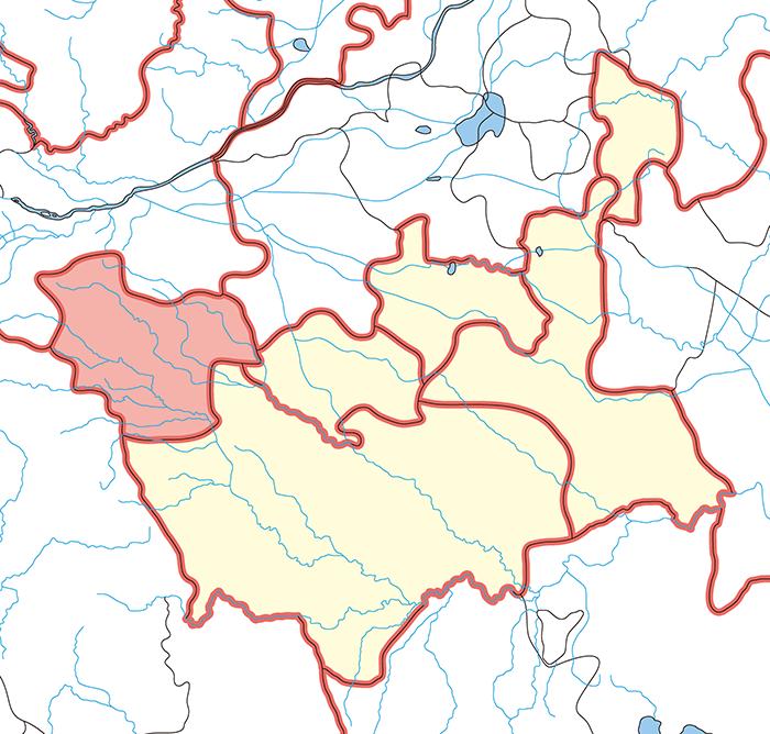 潁川郡(えいせんぐん)の場所