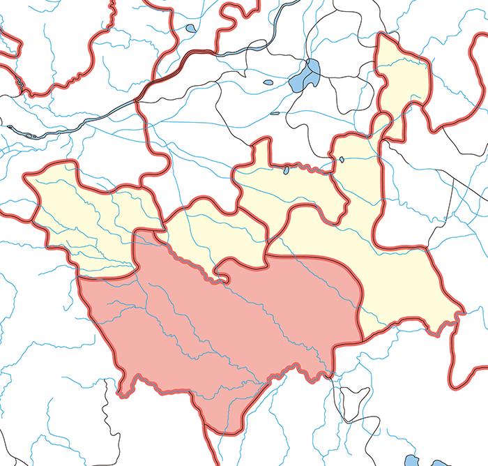 汝南郡(じょなんぐん)の場所