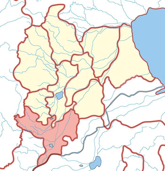 魏郡(ぎぐん)の場所