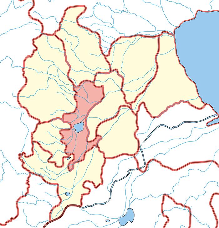 鉅鹿郡(きょろくぐん)の場所