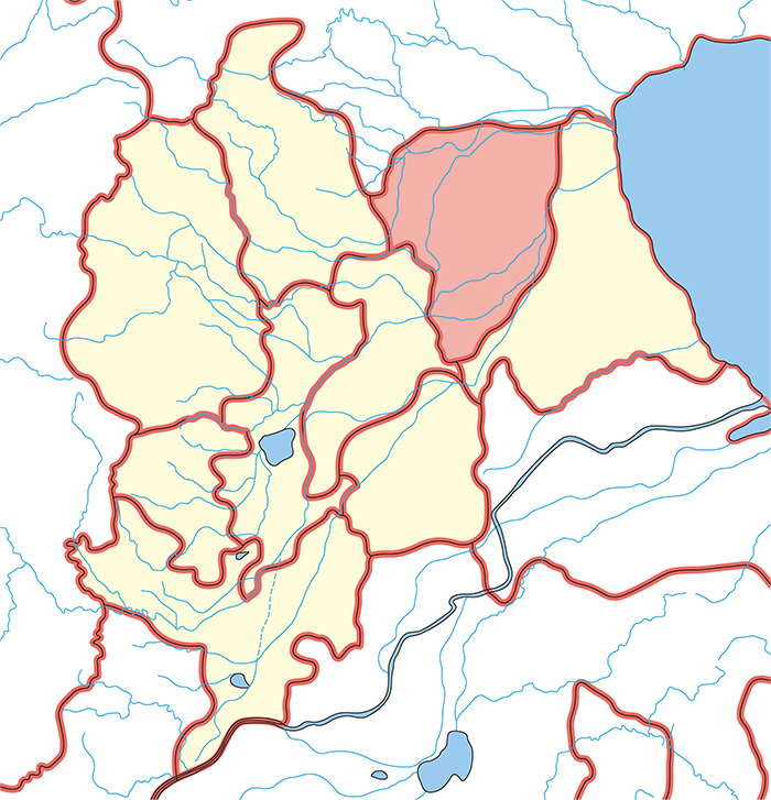 河間国(かかんこく)の場所