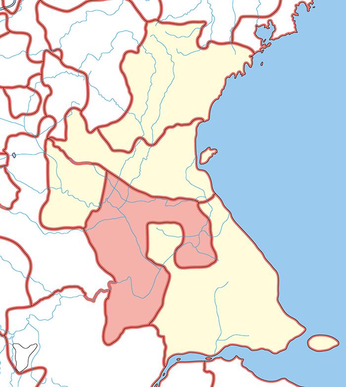 下邳国(かひこく)の場所