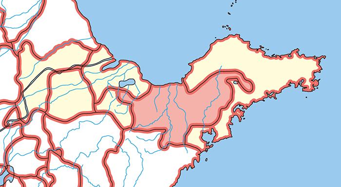 北海国(ほっかいこく)の場所