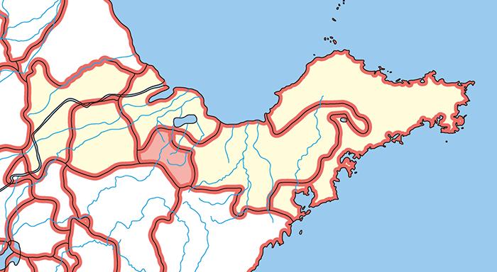 斉国(せいこく)の場所