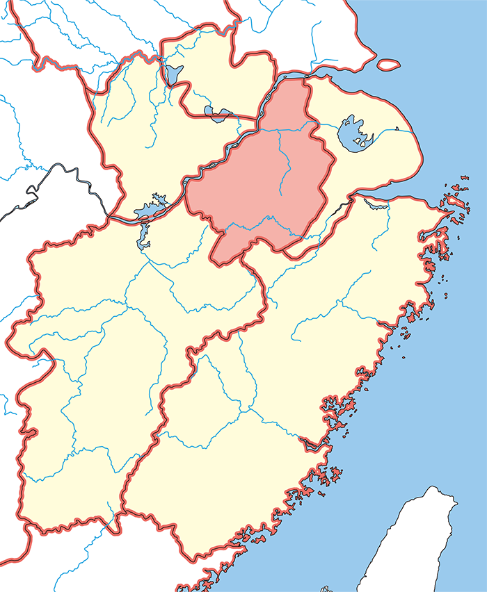 丹陽郡(たんようぐん)の場所