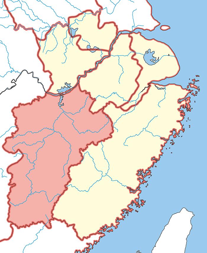 豫章郡(よしょうぐん)の場所