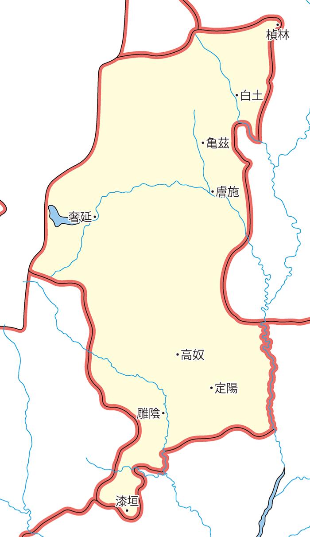 上郡(じょうぐん)の領城