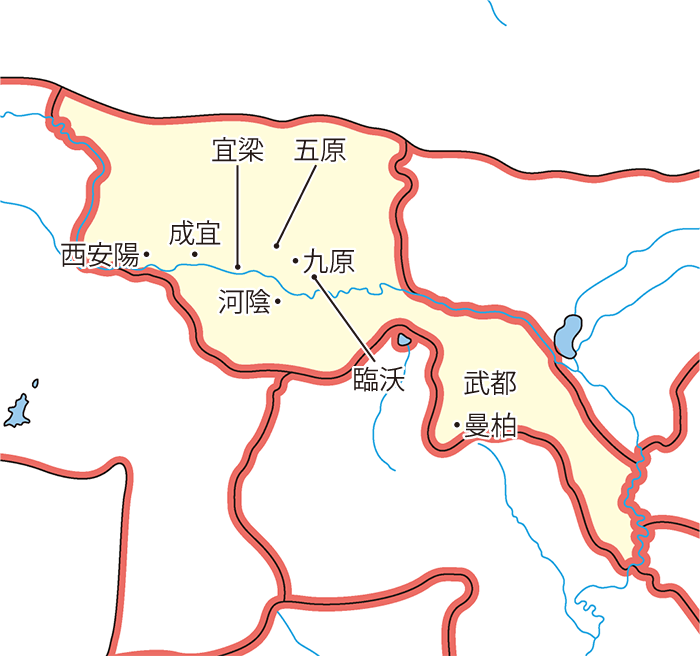五原郡(ごげんぐん)の領城