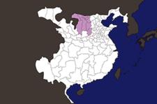 【三国志地図】「幷州(へいしゅう)」の郡県詳細地図(後漢末期)