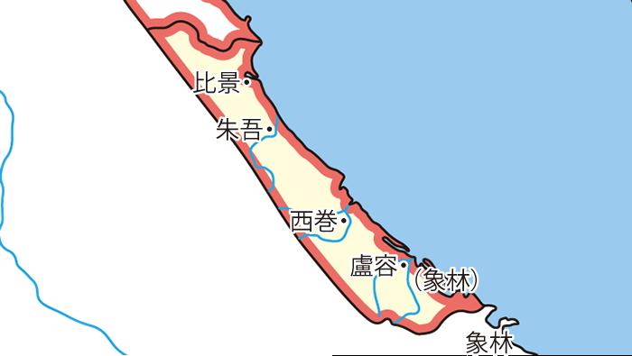 日南郡(じつなんぐん)の領城