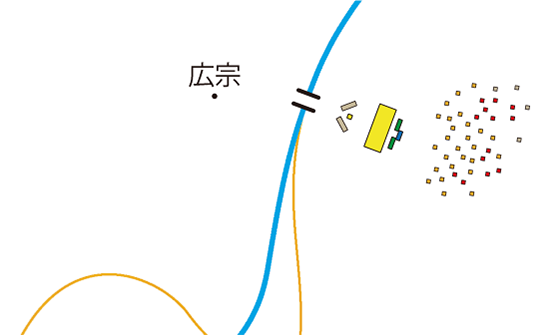 界橋の戦い布陣図5