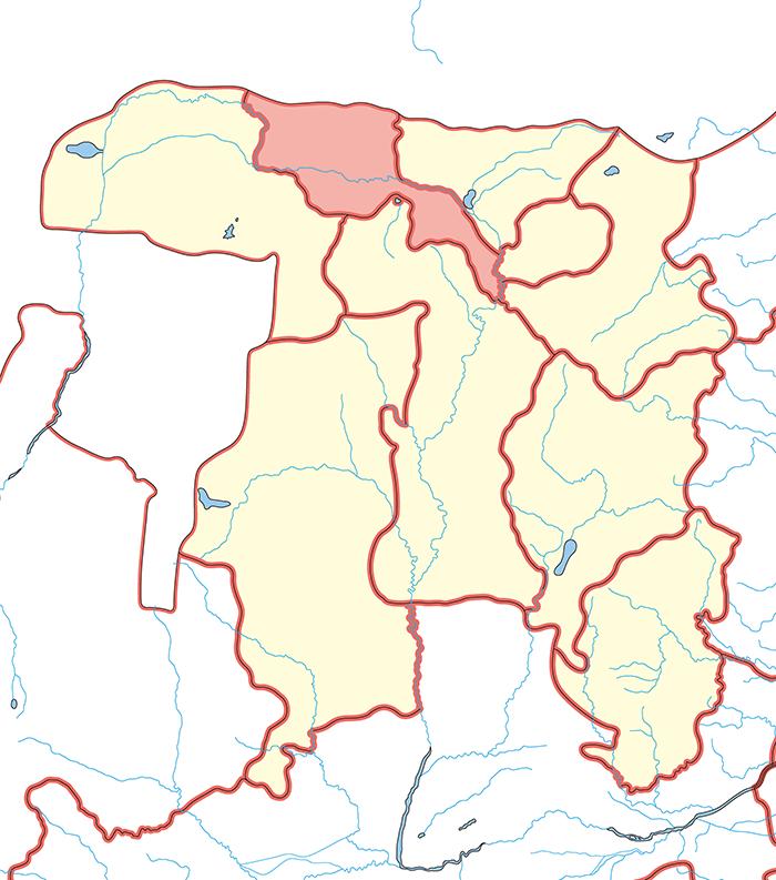 五原郡(ごげんぐん)の場所