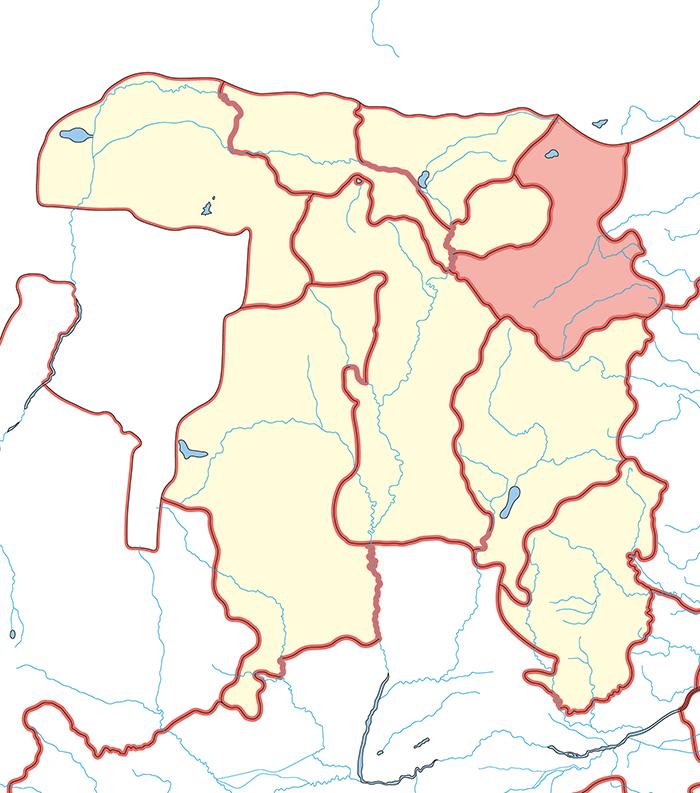 雁門郡(がんもんぐん)の場所