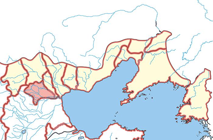 涿郡(たくぐん)の場所