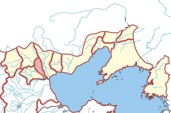 広陽郡(こうようぐん)の場所