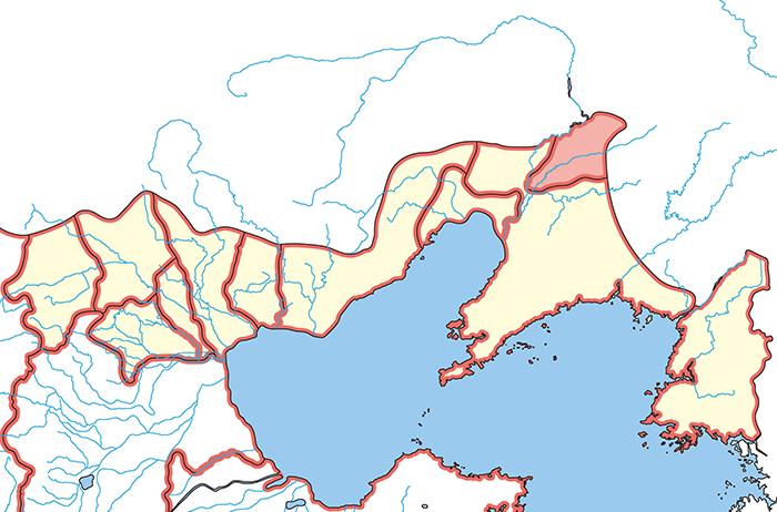 玄菟郡(げんとぐん)の場所