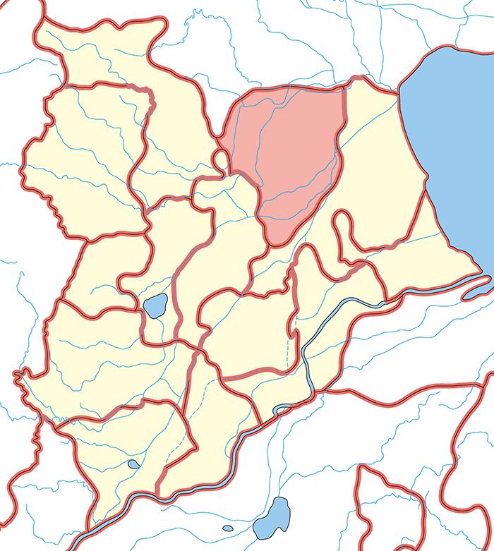河間郡(かかんぐん)の場所