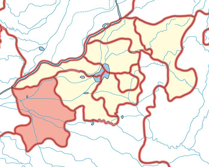 陳留郡(ちんりゅうぐん)の場所