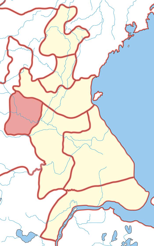 彭城国(ほうじょうこく)の領城