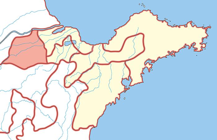 済南国(せいなんこく)の場所