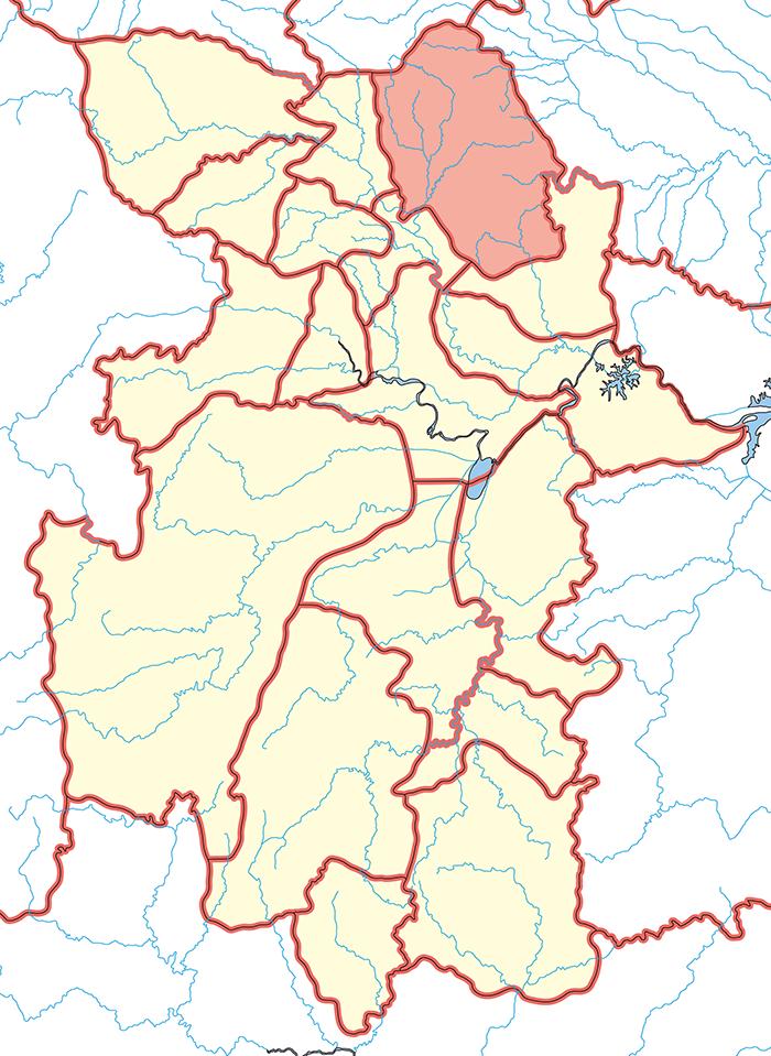 南陽郡(なんようぐん)の場所