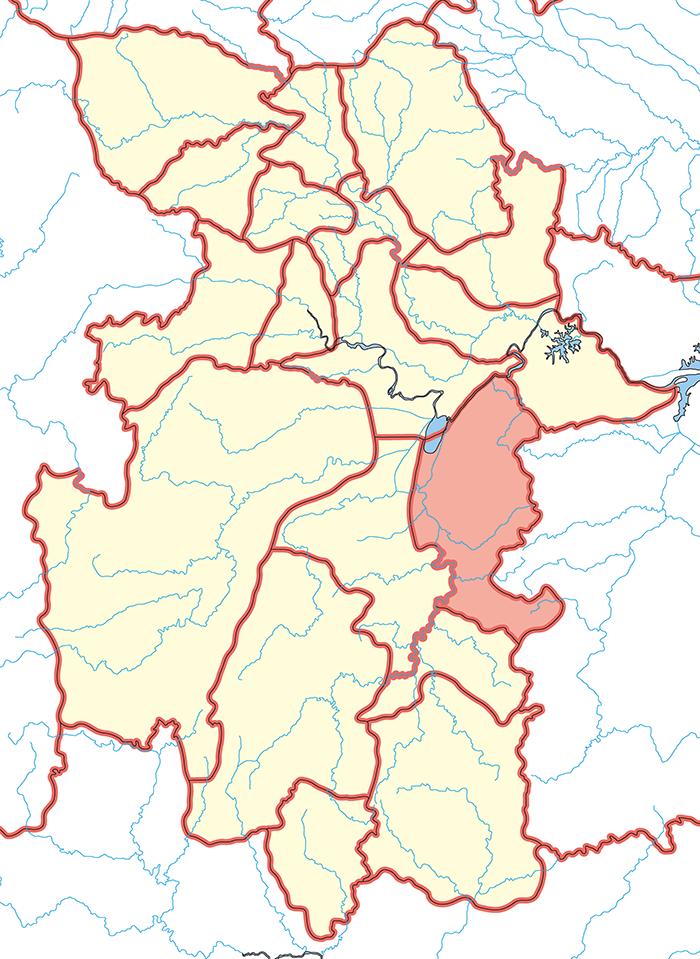 長沙郡(ちょうさぐん)の場所