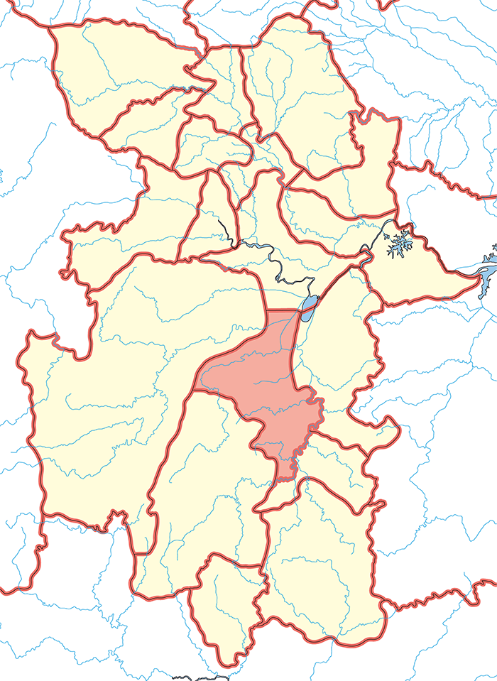 衡陽郡(こうようぐん)の場所
