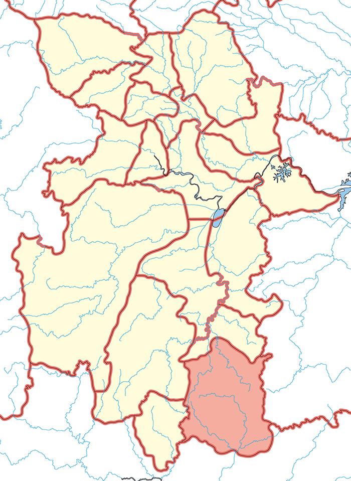 桂陽郡(けいようぐん)の場所