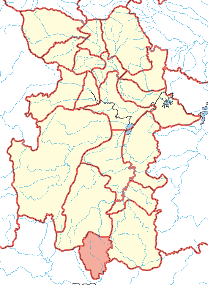 臨賀郡(りんがぐん)の場所