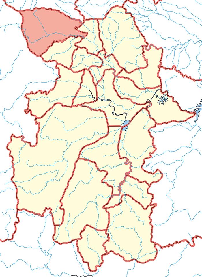 魏興郡(ぎこうぐん)の場所